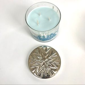 Winter BBW candle